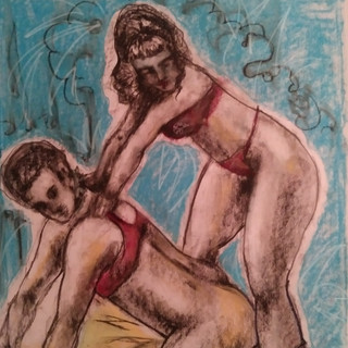 """The Exhibitionists"" From ArtGasmica Series By Salena Angel"