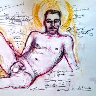 """""""The Exhibitionist"""" Artgamsica Series By Salena Angel"""