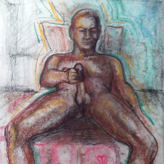 """The Exhibitionist"" From The ArtGasmica series by Salena Angel"
