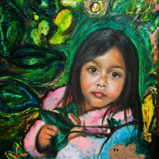 my daughter's portrait #2
