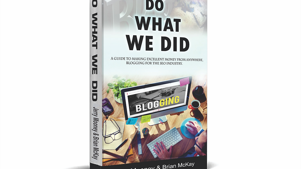 Do What We Did Book