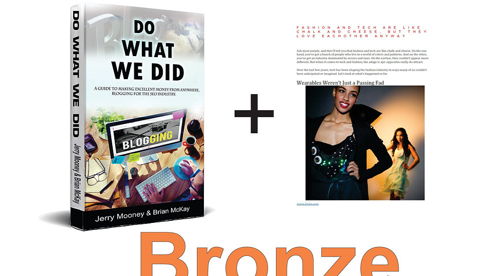 Do What We Did - Bronze Starter Package