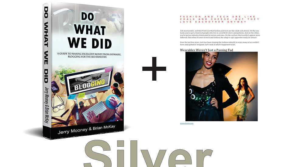 Do What We Did - Silver Starter Package