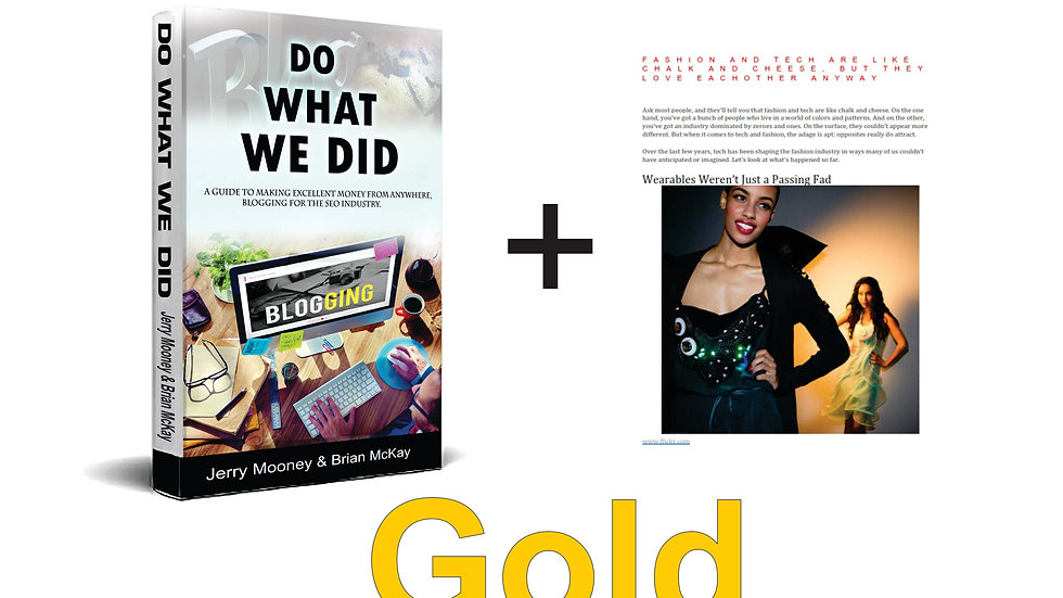 Do What We Did - Gold Starter Package