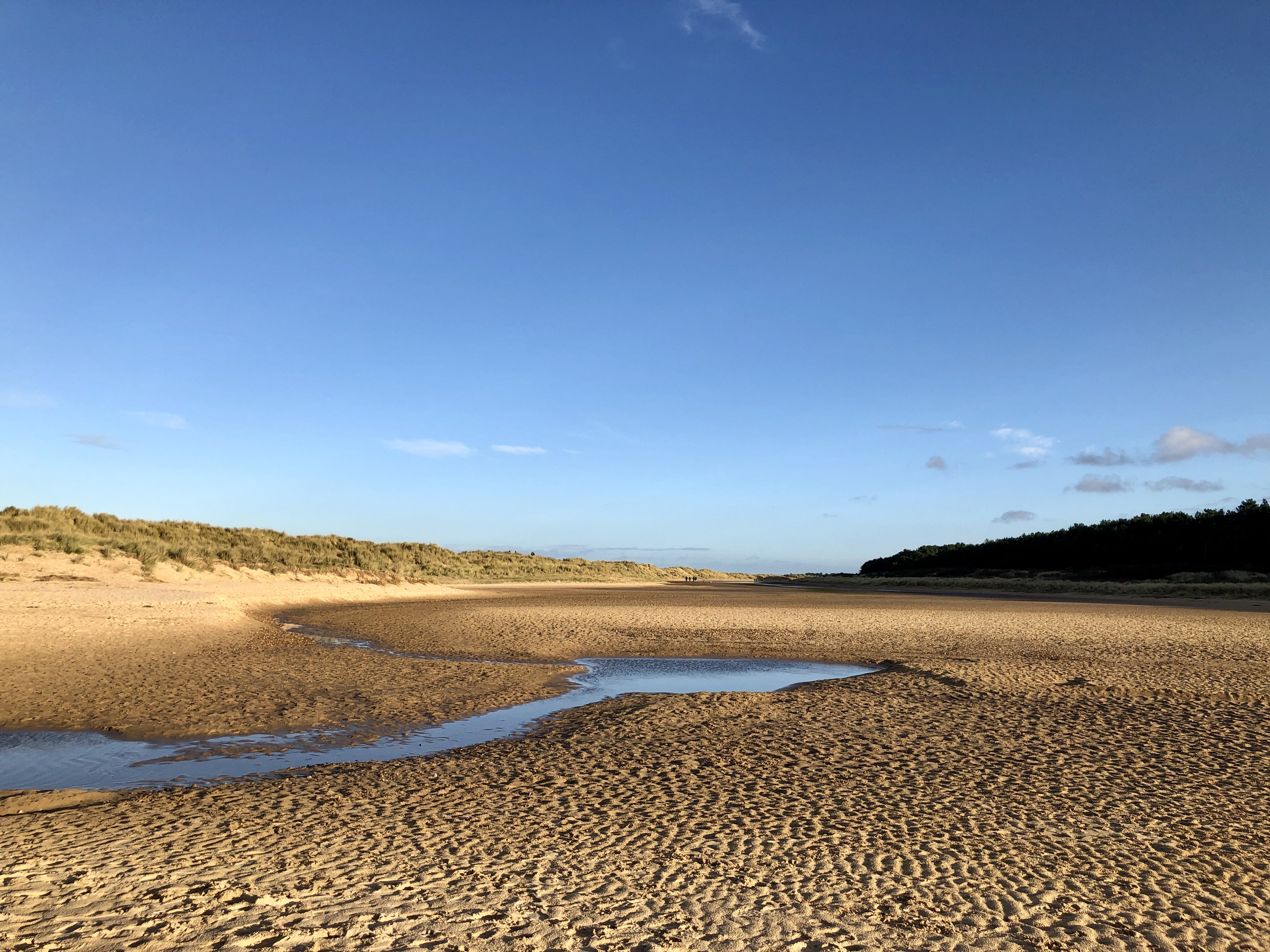 Walking from Wells Beach to Holkham Beach