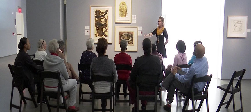 Gracious Living in the Museum Memories program at the Bechtler Museum