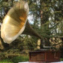 Phonographe; Gramophone; Phonograph; Mariage; Wedding; DJ Vintage; Pathé; Fleurs; Saphir; Vert; Natural; Flowers; Provence; Paulette; Bohème; Liberty; Champêtre; Location; Prestation; Retro; Garden Party; 78 tours; 78 rpm; Jazz; Swing; Blues; Chanson Française; Années folles; Festival; evenements; animation; accompagnement musical; cocktail; Paulette; Vin d'honneur; retraite; récéption; rally; bal; lindy hop; Dixieland; Colombia; Jour et Nuit; Manivelle; tête de lecture; diaphragme; aiguilles; 1900; 1910; 1932; 1920; 20's; 30's; 40's; 50's