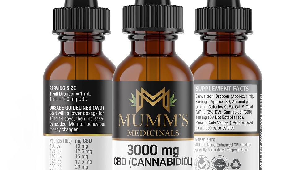 Mumm's Medicinals 1 oz - 3000mg
