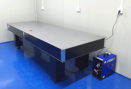 HT400HB self-leveling optical platform.t