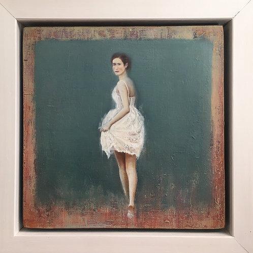 Girl in the white dress