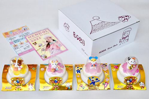 越後製菓×ねんドル  お鏡餅4種セット  スペシャルBOX