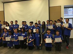 2019 National Biology Bowl Participants