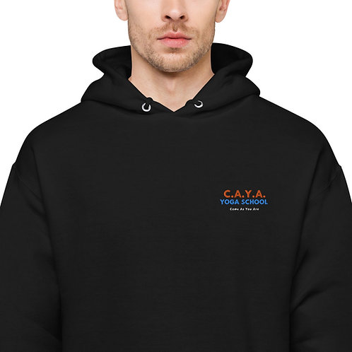 C.A.Y.A Unisex fleece hoodie