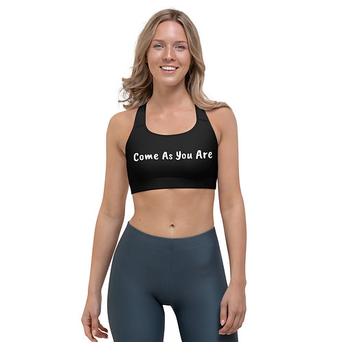 Come As You Are Sports bra