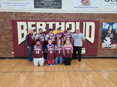 Berthoud High's Unified Basketball