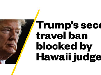 TRUMP TRAVEL BAN - NINTH CIRCUIT:  SLF Supports Trump, Constitution