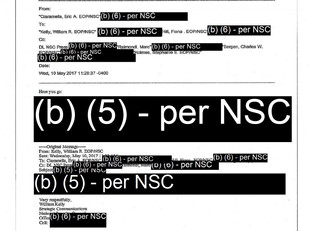 DOJ and NSC ignore Trump's declassification orders - what are they hiding? who are they protecting?