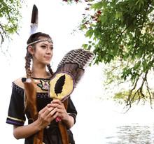 Georgina Island dancer