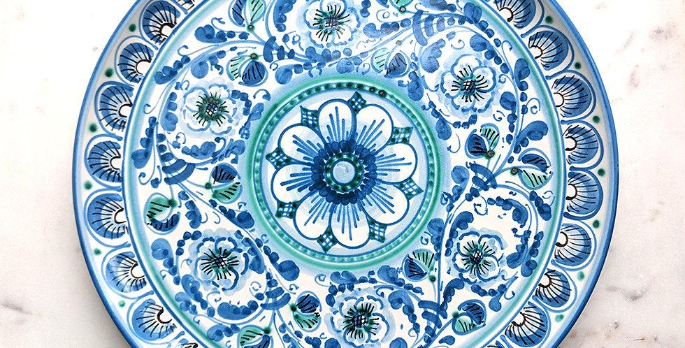 Handmade Handpainted Ceramic Plates