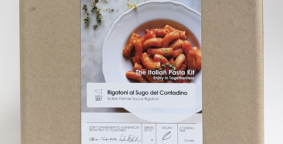 Seligo  -  Farmer Sicilian Sauce Pasta Kit | up to 4