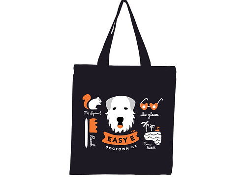 The EasyE Dogtown CA Tote Bag