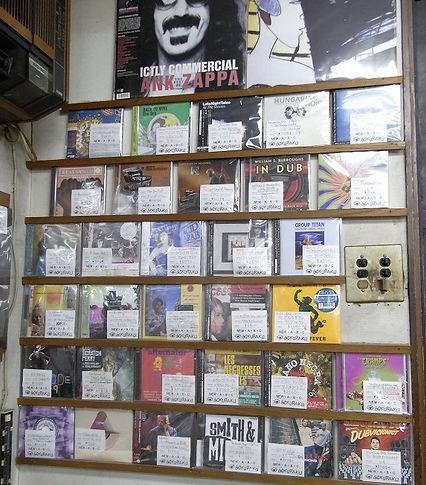 ゴクラクレコード店内2
