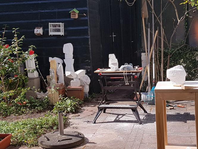 Beelden in tuin I