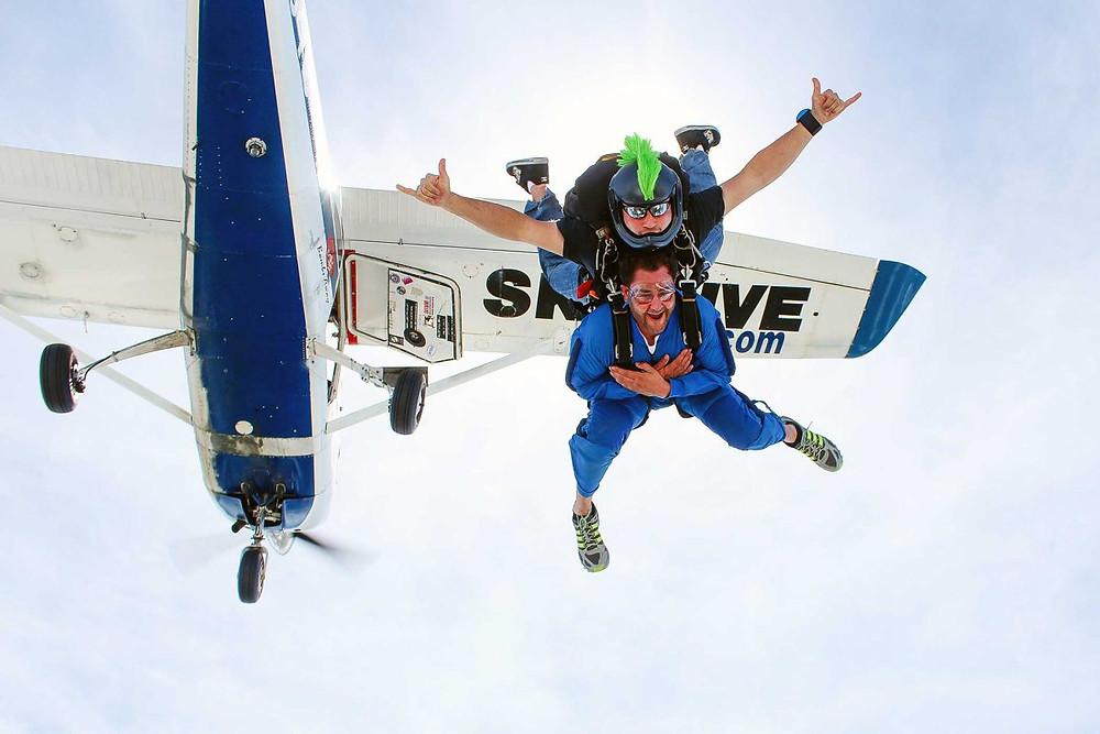 skydive caduta libera