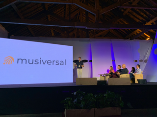 Musiversal Wins Top Startup Award at Lisbon Investment