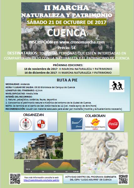 II Marcha Naturaleza y Patrimonio Cuenca