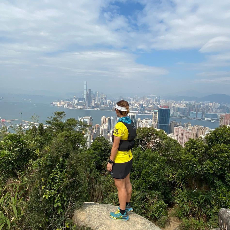 CP1 (4km): 紅香爐峰 Red Incense Burner Summit