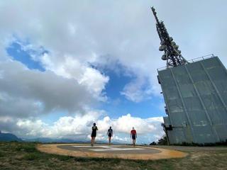CP1 (2.6km): 飛鵝山直升機坪 Kowloon Peak Helipad