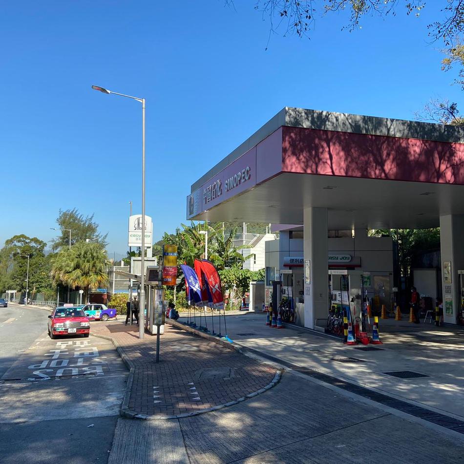 中石化油站便利店 Sinopec Petrol Station'sconvenience store (10km)