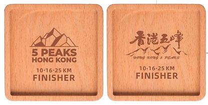 Wood Medal Coaster