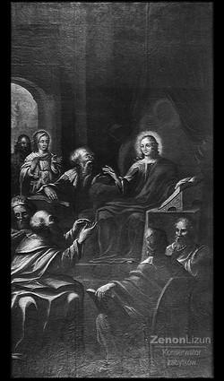 Znalezienie w Świątyni. Wiek XVIII.