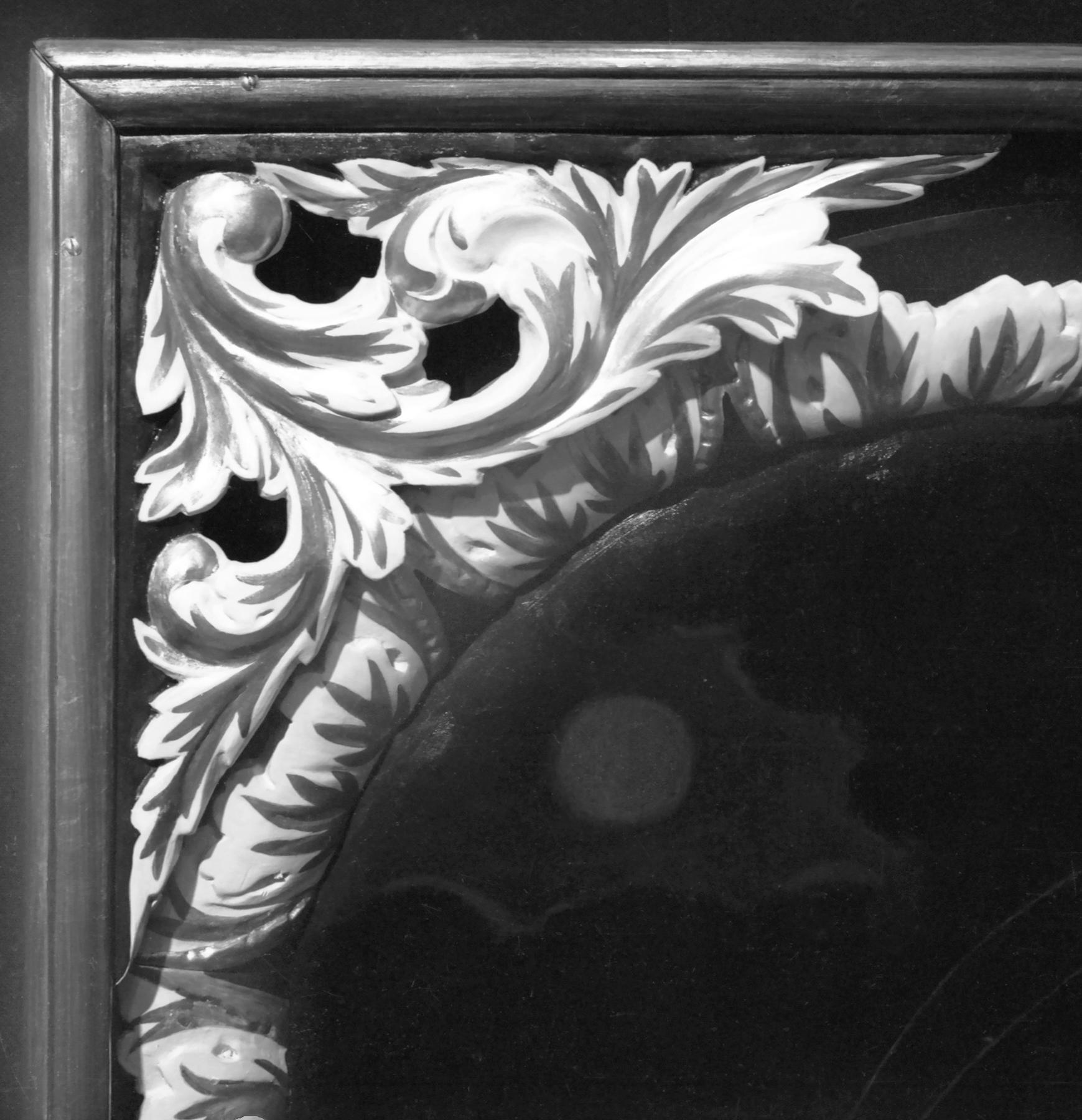 Ołtarz barokowy w Sępólnie Wielkim.