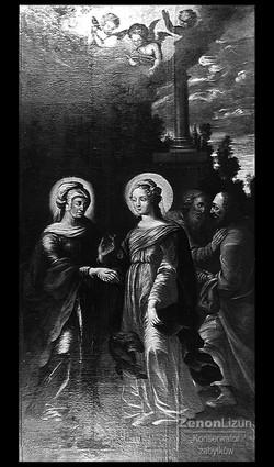 Nawiedzenie św. Elżbiety. Wiek XVIII