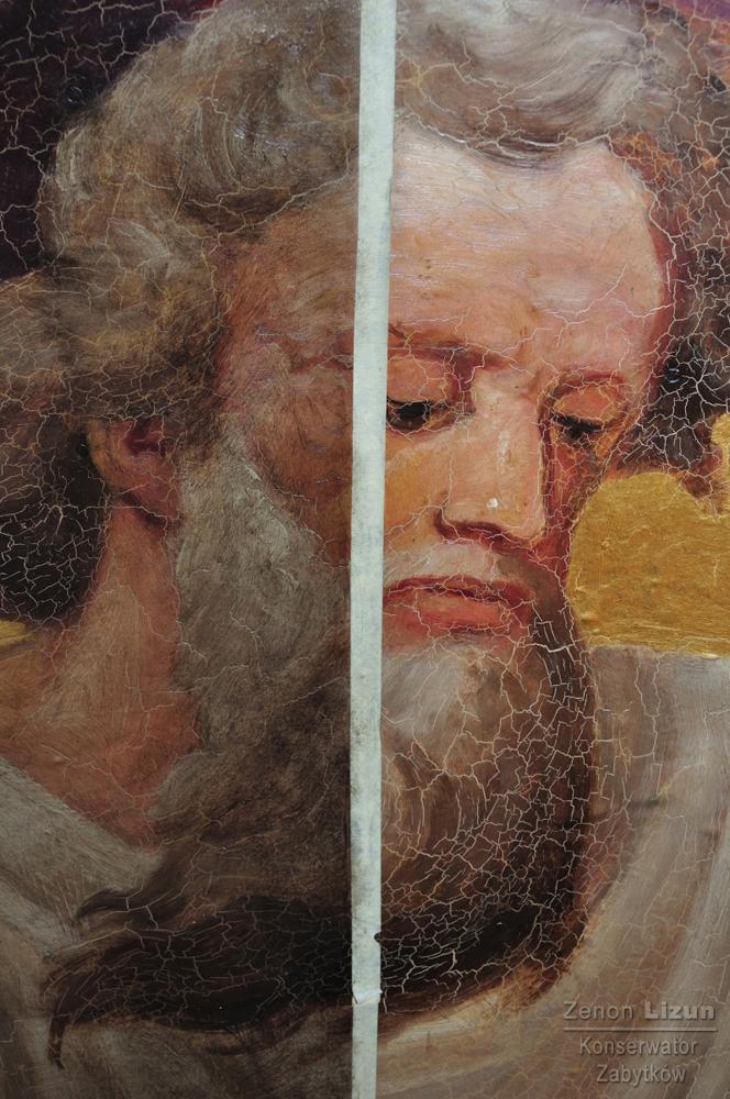 Malowidło ścienne Przemienie Pańskie