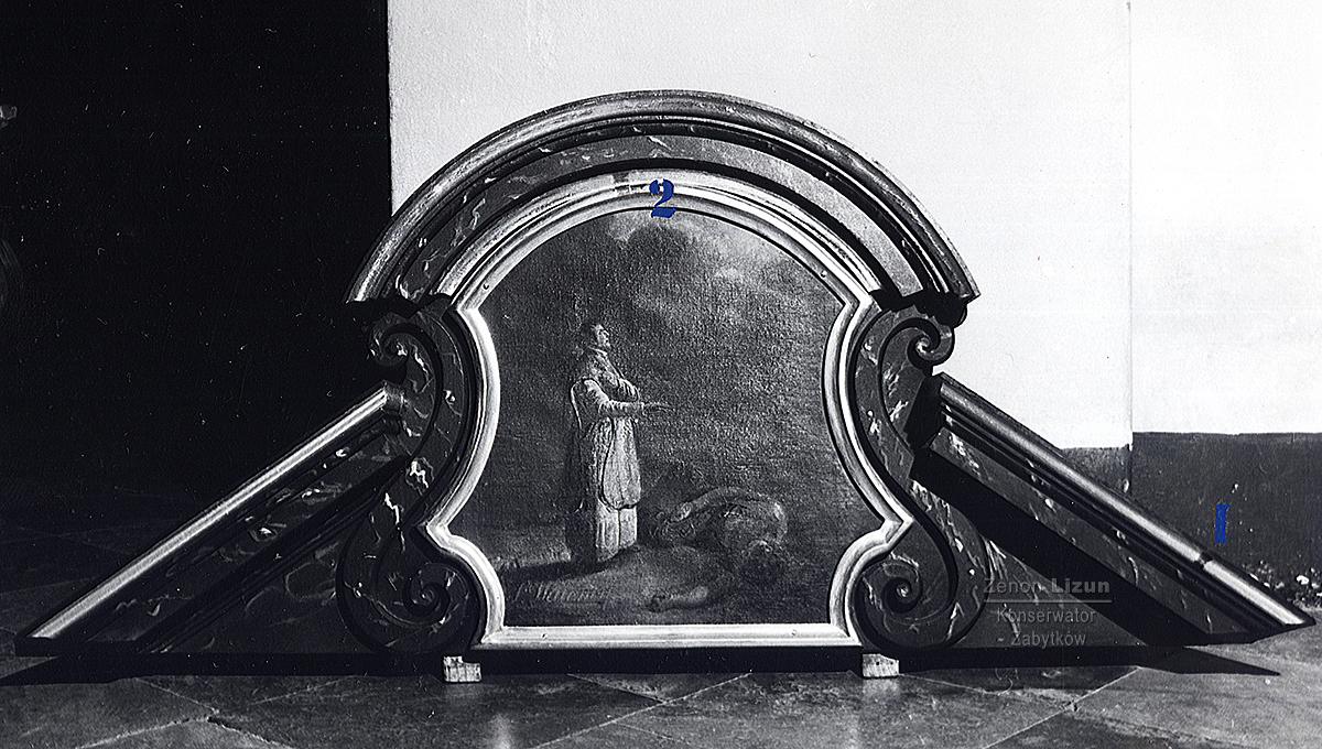 Ołtarz boczny p.w. Świętej Anny