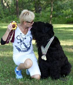 Kiss of the Winner!