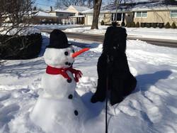 Gish and his Snowman