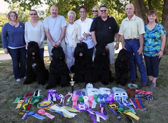 Zastava Kennel at the 2015 BRTCA Nationals.