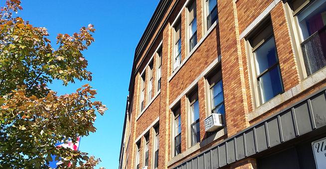 Hudner Building Fall River MA