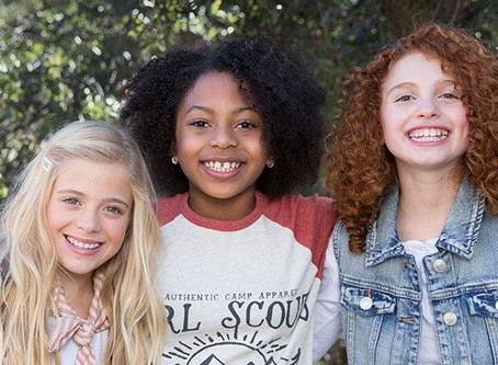 Unleash strong! Be a Girl Scout.