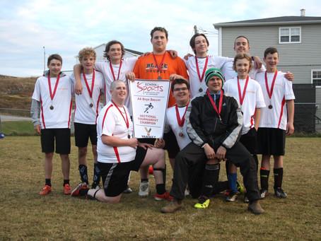 St. James Regional boys claim first AA soccer championship