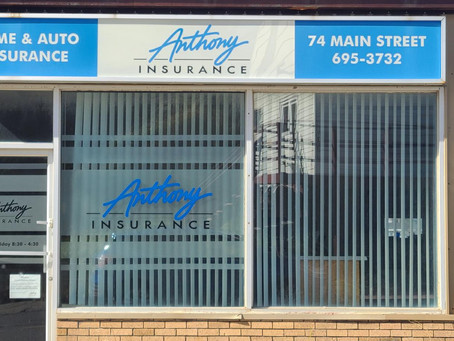 Insurance office closes permanently