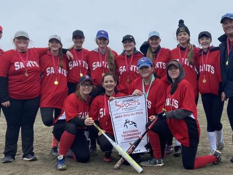St. James girls softball defeats Corner Brook team