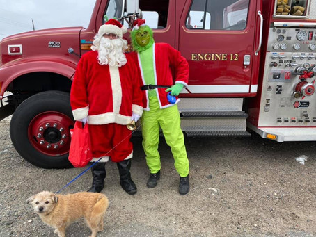 Santa, Grinch visit Margaree-Fox Roost