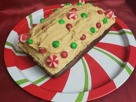 Cooking with Colby: Gingerbread loaf with ginger buttercream frosting