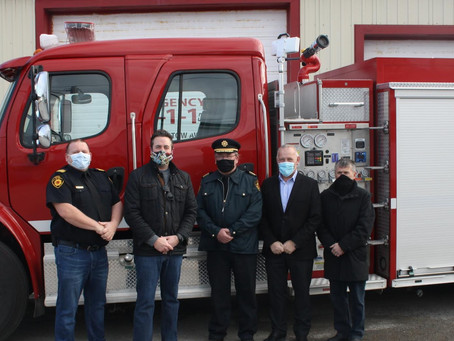 PAB gets new fire truck